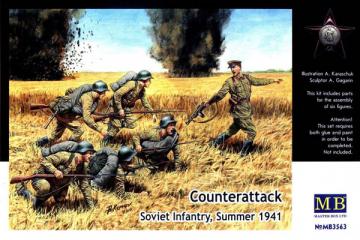 Контратака. Советская пехота, лето 1941 (1/35)