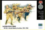 Советская пехота. Восточный фронт 1941-1942 (КИТ №2) (1/35)