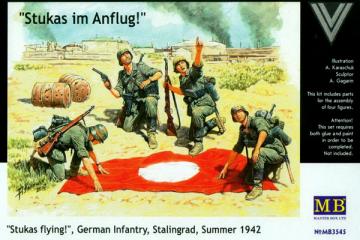 Немецкая пехота, Сталинград, лето 1942 (1/35)