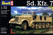 Sd.Kfz.7, немецкий полугусеничный тягач (1/72)