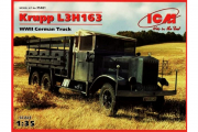 Автомобиль Krupp L3H163 немецкий грузовик (1/35)