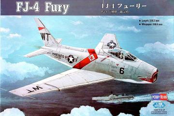 Самолет FJ-4 Fury (1/48)