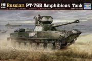 Танк ПТ-76Б плавающий, Россия (1/35)