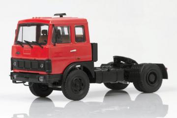 МАЗ-5432 седельный тягач ранний 1981, красный (1/43)