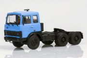 МАЗ-6422 седельный тягач ранний 1978, синий (1/43)