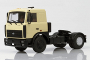 МАЗ-5432 седельный тягач поздний 1989, бежевый (1/43)