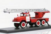 АЛ-30 (131) пожарный лестница, Севастополь, красный/белый (1/43)