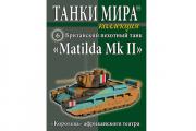 Журнал Танки Мира коллекция №06 Британский пехотный танк 'Matilda Mk II'