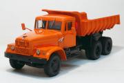 КрАЗ-256Б самосвал из к/ф 'Мимино' 1969, оранжевый (1/43)