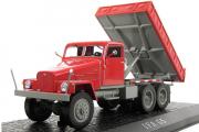 IFA G5 самосвал 1965, красный (1/43)