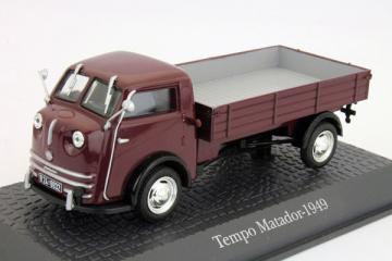 Tempo Matador бортовой 1949, вишневый (1/43)