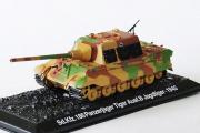 Танк Sd.Kfz. 186 Panzerjager Tiger Ausf.B Jagdtiger - 1940 (1/72)