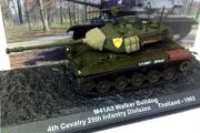 Танк M41A3 Walker Bulldog Thailand - 1962 (1/72)