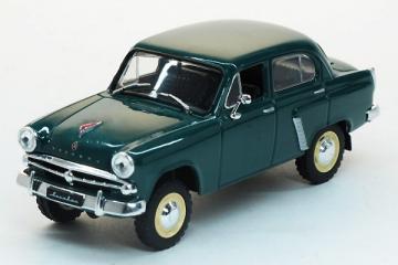 Москвич-410, зеленый (1/43)