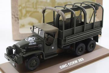 GMC CCKW 353 US Army 6х6 бортовой, хаки (1/43)