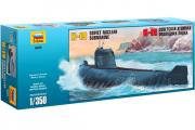 Подводная лодка К-19 (1/350)