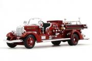 Ahrens Fox VC пожарный 1938, красный (1/43)