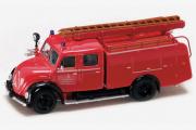 Magirus-Deutz Merkur TLF 16 пожарный 1961, красный (1/43)