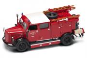 Mercedes Benz TLF-15 пожарный 1950, красный (1/43)