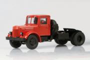 МАЗ-200В седельный тягач, красный (1/43)