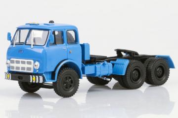 МАЗ-515А седельный тягач 1974, синий (1/43)