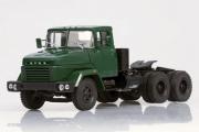 КрАЗ-6444 седельный тягач 1985, темно-зеленый (1/43)