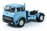 МАЗ-504В седельный тягач 1977, голубой (1/43)