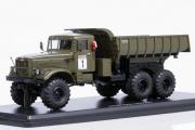 КрАЗ-255Б самосвал 6х6, хаки (1/43)
