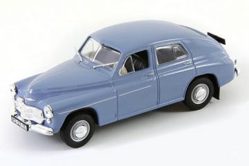 Warszawa M-20, голубой (1/43)