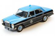 Mercedes-Benz W114 Полиция Катара, черный/синий (1/43)