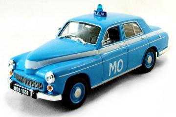 Warszawa 223 Полиция Польши, синяя (1/43)