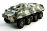 БТР-60ПБ, зеленый/серый камуфляж (1/72)