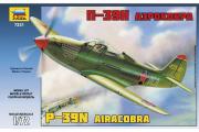 Самолет П-39Н Аэрокобра (1/72)
