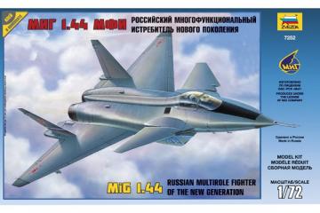 Самолет МИГ 1.44 МФИ (1/72)
