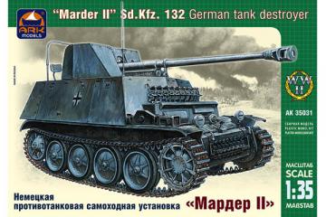 Немецкая противотанковая самоходная установка 'Marder II' Sd.Kfz.132 (1/35)