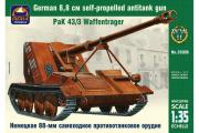 Немецкое 88-мм самоходное противотанковое орудие PaK 43/3 (1/35)