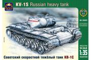 Танк КВ-1С (1/35)