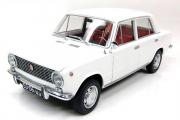 ВАЗ-2101 'Жигули' 1971, белый (1/18)