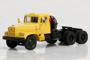 КрАЗ-258Б седельный тягач 1969, желтый (1/43)