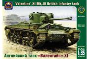 Танк Valentine XI Mk.III английский (1/35)