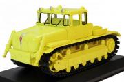 Трактор ДЭТ-250 гусеничный 1957, желтый (1/43)