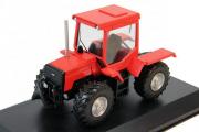 Трактор ЛТЗ-155 1995, красный (1/43)