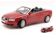 Audi A4 Cabriolet, красный (1/18)