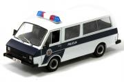 РАФ-22038 Полиция Латвии, черный/белый (1/43)