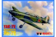 Самолет Як-7В (1/48)