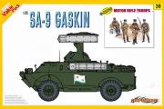 SA-9 GASKIN + Motor rifle troops (1/35)