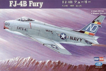 Самолет FJ-4b Fury (1/48)