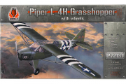 Самолет Piper L-4H Grasshopper with wheels (1/72)
