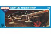 Самолет Tupolev SB-2 'Katyushka' Bomber (F176) (1/72)