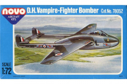 Самолет D.H. Vampire F.B.5/50 (F233) (1/72)